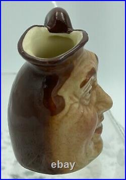 1930s Small Royal Doulton Character Toby Jug John Barleycorn, 6cm, As New #10