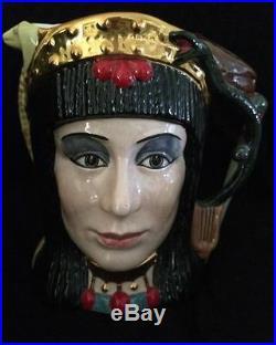 1984 Royal Doulton Character Jug Antony & Cleopatra Mug D6728 Limited Ed