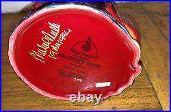 1994 Signed Michael /1500 Flumbe Royal Doulton Jug Mug Character Aladdins Genie