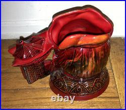 1995 Large Rare 84/ 1750 Flumbe Royal Doulton Jug Mug Character Confucius D7003