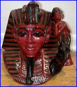 1996 Large Rare 924/ 1500 Flumbe Royal Doulton Jug Mug Character Pharaoh