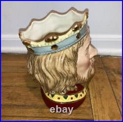 1996 Signed Michael / 1500 Royal Doulton Jug Mug Character D 7055. King Arthur