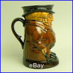 A Royal Doulton Pottery Kingsware The Huntsman Character Jug By Noke C. 1910-1927