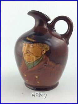 Antique Royal Doulton Character Kingsware Dewars whiskey jug