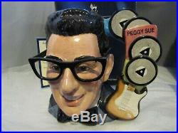 Buddy Holly Peggy Sue Character Jug Limited with Certificate Royal Doulton