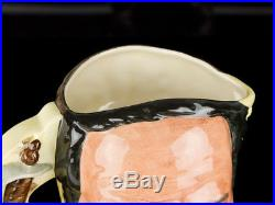 C1985 Royal Doulton Davey Crocket & Santa Anna Character Jug