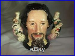 Charles Dickens Royal Doulton Double Handle Character Toby Jug D6939