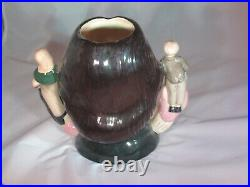 Charles Dickens Royal Doulton Double Handle Character Toby Jug D6939 Loving CUP