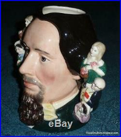 Charles Dickens Royal Doulton Double Handle Character Toby Jug D6939 RARE GIFT