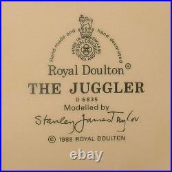 Colourful ROYAL DOULTON THE JUGGLER LARGE SIZE CHARACTER JUG D6835