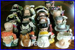 Complete Set All 21 Royal Doulton Character Jugs Of The Year 1991-2011 Exc Cond