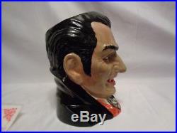 Count Dracula 1997 Character Jug Limited Ed Royal Doulton Vampire COA