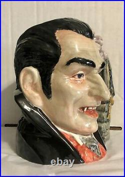 Count Dracula Royal Doulton Character Jug COA Ceramic