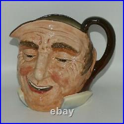 D5788 Royal Doulton large character jug Farmer John Inside Handle