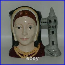 D6643 Royal Doulton large character jug Catherine of Aragon Henry VIII wives