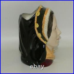 D6645 Royal Doulton large character jug Catherine Howard Henry VII wives