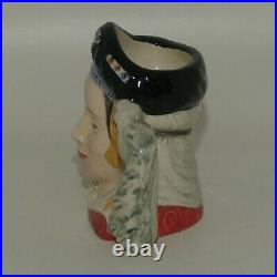 D6754 Royal Doulton miniature character jug Anne of Cleves Henry VIII wives