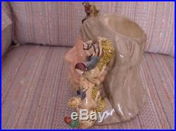 Doulton Character Jug Rare Chaucer Limited Edition With Signed certificate