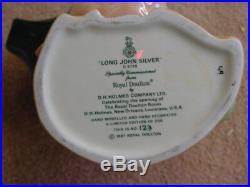 Doulton Character Jug Ultra-rare Long John Silver D6799 LE 1987