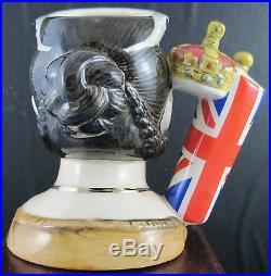 Doulton Character Jugs Queen Victoria & Prince Albert Matched Pair
