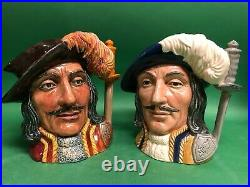 Doulton Trial Athos Colorway Character Jug Toby that should have been made