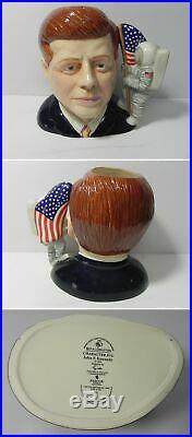 Ec146 Royal Doulton Character Jug John F Kennedy, D7246, Large 7 #0003/1000