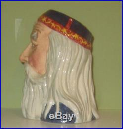 Exquisite & Rare Royal Doulton Prototype Merlin Character Jug Style 2 Mint Cond
