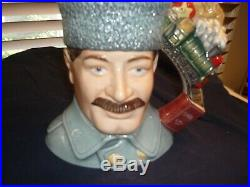 Extremely Rare Large Royal Doulton Character Jugs Dr. Zhivago And Lara D7286, D7