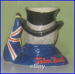 Fantastic, Rare Prototype Royal Doulton John Bull Character Jug Superb Condition