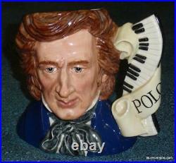 Frédéric Chopin Royal Doulton Character Composer Toby Jug D7030 ULTRA RARE