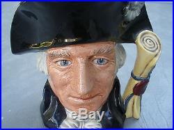 George Washington D 6669 Royal Doulton Toby Jug Character 1982 250TH Anniversary