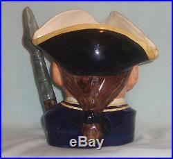 Guardsman Character Toby Jug Mug Williamsburg Royal Doulton D6568 Large Vintage