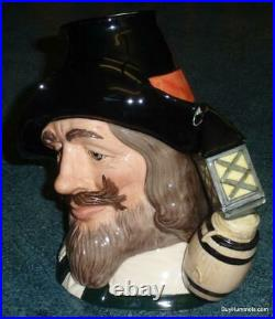 Guy Fawkes Anonymous Character Toby Jug D6861 By Royal Doulton LARGE VERSION