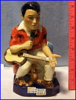 KEVIN FRANCIS ELVIS Toby character jug VERY RARE Prototype-COLOR SAMPLE