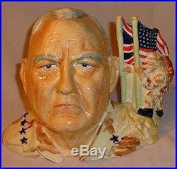 Kevin Francis Gen. Norman Schwarzkopf LE 66/1000 Character Jug