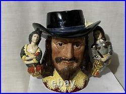 King Charles King Charles I Limited Edition Character Jug 1079/2500 #6917