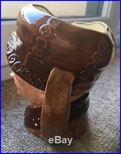 Large ROYAL DOULTON Brown Buttons Arry Pearly Boy Character Jug