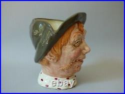 Large Rare Vintage Royal Doulton Jarge Character Jug Early Rd. No. Free Uk P+p