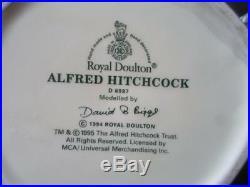 Large Royal Doulton Alfred Hitchcock D 6987 Character Jug c. 1994
