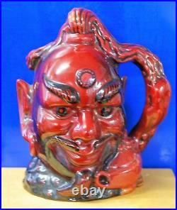 Large Royal Doulton Character Jug Aladdins Genie D9971 Flambe