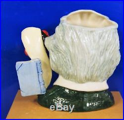 Large Royal Doulton Character Jug Albert Einstein D7023 Excellent Condition