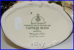 Large Royal Doulton Character Jug Captain Bligh D6967 Perfect