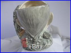 Large Royal Doulton Character Jug D7142 MARLEY'S GHOST. No. 467 of 2500