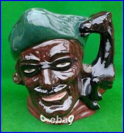Large Royal Doulton Character Jug Dick Turpin Trial Piece D6528 A/f