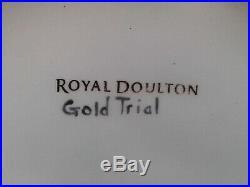 Large Royal Doulton Character Jug Elvis Presley Gold Trial Prototype D6730