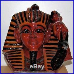 Large Royal Doulton Character Jug Flambe The Pharaoh D7028 Extremely Rare