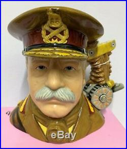 Large Royal Doulton Character Jug General French D7232 Limited Edition Very Rare