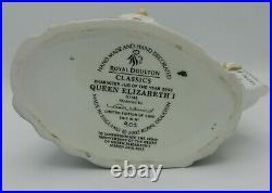 Large Royal Doulton Character Jug QUEEN ELIZABETH I D7180 JOY 2003