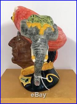 Large Royal Doulton Character Jug The Elephant Trainer D6841 Excellant