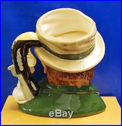 Large Royal Doulton Character Toby Jug Bill Sikes D6981 Limited With Cert